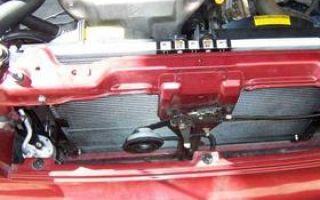 Как снять и заменить радиатор кондиционера Ланос подробное описание