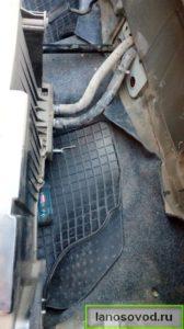 Как снять блок печки ланос в сборе с кондиционером