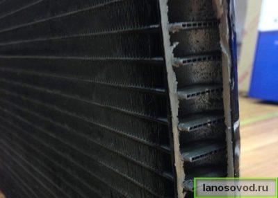 Конструкция трубок конденсера Ланос
