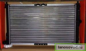 радиатор на ланос