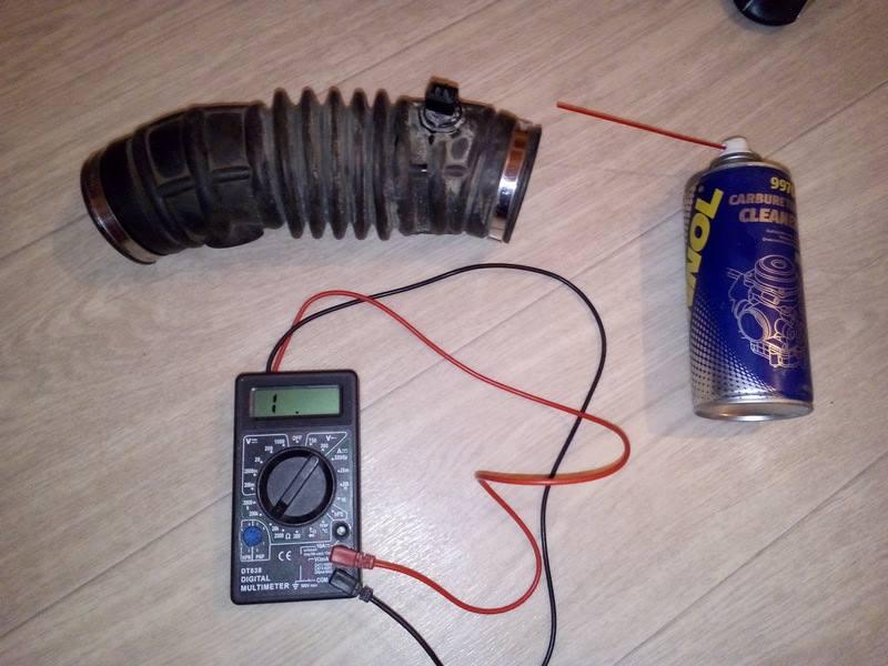 Чистка датчика температуры