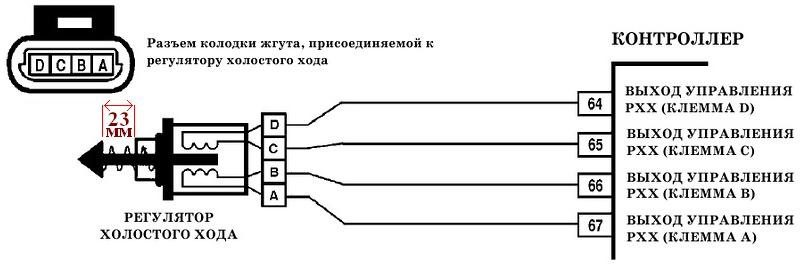 Схема РХХ Ланос