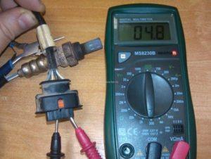 Как проверить кислородный датчик Ланос