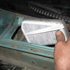 Салонный фильтр на Ланосе — инструкция по замене и как часто нужно менять
