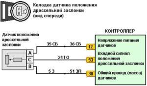 Схема подключения ДПДЗ