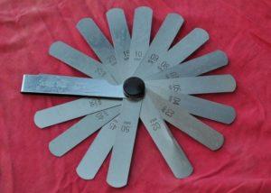 Набор щупов для регулировки клапанов