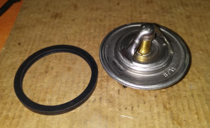 Терморегулирующий клапан на Ланос