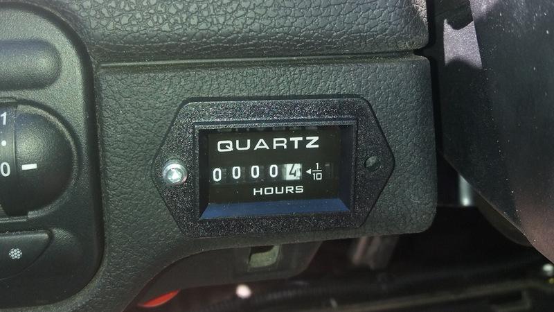 Счетчик моточасов в авто