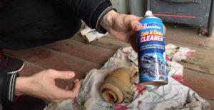 Очиститель для чистки расширительного бачка