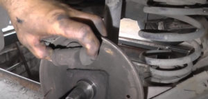 Проверка исправности рабочего тормозного цилиндра