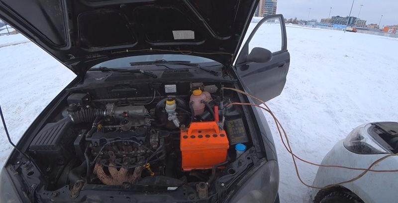 Как прикурить машину