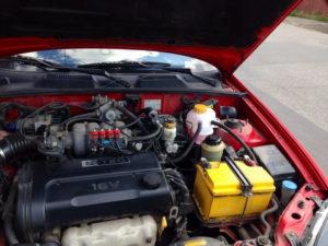 Ланос с ГБО не заводится двигатель