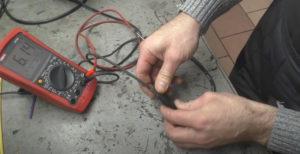 Прозвонка высоковольтных проводов и измерение сопротивления
