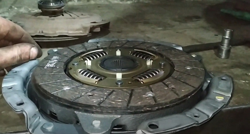 Как правильно устанавливать диск сцепления