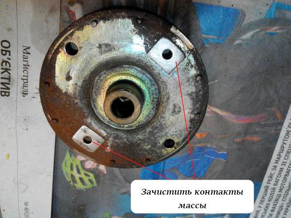 Замена нижней втулки стартера Ланос