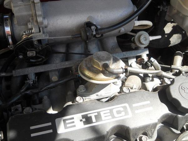 Электровакуумный клапан ЕГР на Ланос где стоит