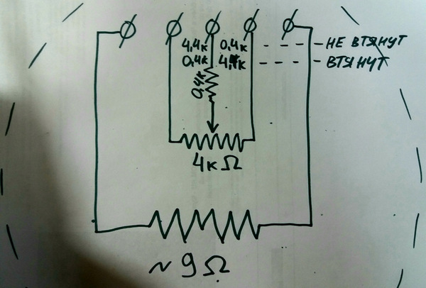 Проверка сопротивления потенциометра клапана ЕГР